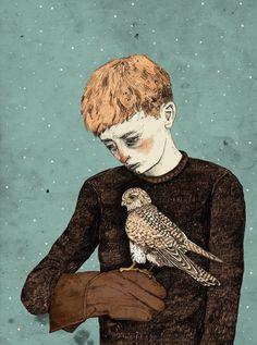 La naturaleza silvestre de las ilustraciones de  Sandra Dieckmann.