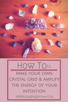 Ritual:: How to make your own crystal grid & amplify the energy of your intention (sneak peek of my upcoming e-book AND a free download!)