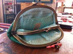 Intérieur pochette granny purse cuir