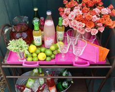 Non Alcoholic Bar Cart