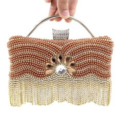 Find More Evening Bags Information about New Fashion Pearl Diamond Tassel Evening Bag Women Handbag crystal rhinestone Chain Shoulder Bags Day Clutch Wallet Bolso B964,High Quality bags dora,China bag cosmetic Suppliers, Cheap bag safe from The Sunny Day on Aliexpress.com