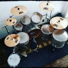 Repost ・・・ Some of my stuff. Zildjian Cymbals, Gretsch Drums, Pearl Drums, How To Play Drums, Drummer Boy, Snare Drum, Drum Kits, Music Is Life, Beats