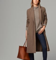LONG COAT WITH BELT - New - WO