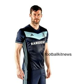 New Boro Tops Middlesbrough Adidas Kits Premier League Adidas Kit, Middlesbrough Fc, Soccer Shirts, Boro, Home And Away, Premier League, Wetsuit, Swimwear, Mens Tops