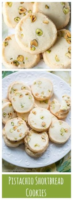 Shortbread Cookies - A simple slice and bake shortbread cookie ...