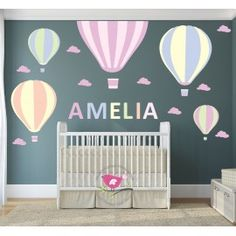 30 Best Hot Air Balloon Nursery Wall Stickers Decals Images