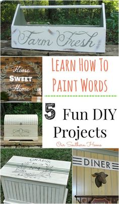 wood Signs Stencil How To Make is part of Diy crafts - Welcome to Office Furniture, in this moment I'm going to teach you about wood Signs Stencil How To Make Diy Projects To Try, Wood Projects, Craft Projects, Upcycled Crafts, Repurposed, Diy Signs, Wood Signs, Farm Signs, Wood Crafts