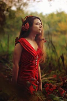 Princess of nature by Kva-Kva on DeviantArt Forever Red, Woods, Deviantart, Princess, Children, Nature, Photography, Young Children, Boys
