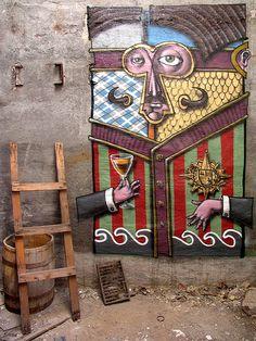 Street art | Mural by Kislow