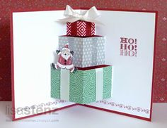 Lisa's Creative Corner: Pop-Up Christmas Card - Holidays from the Heart Blog Hop