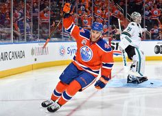 Zack Kassien of the Edmonton Oilers was a team leader tonight.