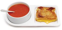 Simply Cool Products - Soup and Sandwich ceramic tray duo