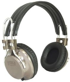 California Headphone Company On Ear Metal and Leather Headphones  Laredo -- Check this awesome product by going to the link at the image. Note: It's an affiliate link to Amazon