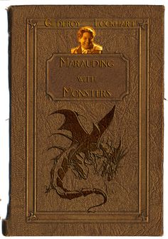 Gilderoy Lockhart Marading With Mosters Book Cover