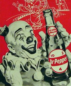 1960's Vintage Advertising - 1963 Dr. Pepper Ad - 1960's Graphic Art via etsy