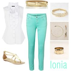 Ionia Summer Outfit by sbwithkrystenb on Polyvore
