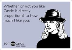 True that. I can see that, that is very true. You don't like castle then what are you interested in.