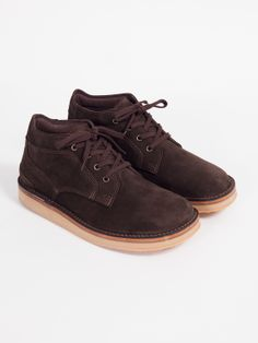 MCKINLAYS SHERWOOD BOOT BROWN SUEDE $370 [God I love these things. But at $370 I could only afford about 3% of one shoe!]