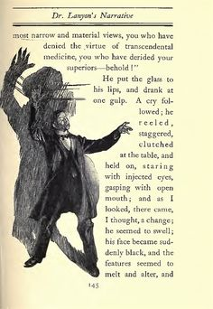 The strange case of Dr. Jekyll and Mr. Hyde illustrated by Charles Raymond Macauley. Author : Robert Louis Stevenson  1904 edition