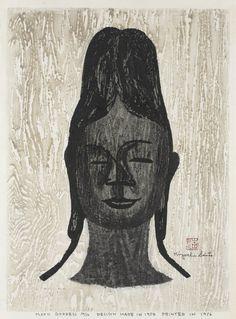 Kiyoshi Saito, The Moon Goddess, 1954