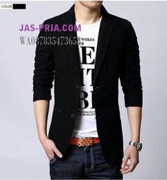 blazer pria masa kini sebagai alternatif kebutuhan jas cowok yang keren dan trendy. Desain modelnya dapat dipakai untuk formal maupun baju casual. kualitas terbaik dengan harga murah bisa kamu dapatkan disini. WA 087835473653