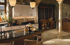 Grand Villa Kitchen   Wood-Mode   Fine Custom Cabinetry