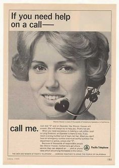 Bell Telephone Directory Assistance 1964! Both my and grandmothers were Bell telephone  operators.