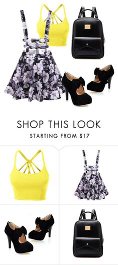 """""""Untitled #53"""" by lucia-graff on Polyvore featuring LE3NO"""
