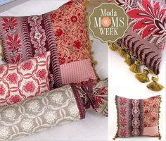 More Moda Fabric to Love, Printable Gift Tags, and a Special Great Giveaway | Sew4Home