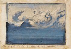 John Ruskin   clouds