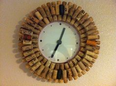 Ikea clock and 120 bottles of wine later (yikes)...