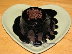 The Kitchen Whisperer Molten Lava Chocolate Cake