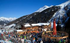 MooserWirt is a St. Anton, Austria icon. When the lifts close, MooserWirt goes into full-tilt party mode and it's time to party like a rock star (until 8:00pm). As a connoisseur of  après-ski awesomeness, I hope to one day to go there and spend a month one afternoon.