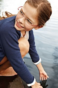 @Karen Jacot Boudreau Eyewear SPX Art Kids: model 4241, colour 6052 cherry red