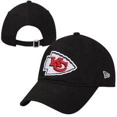 New Era Kansas City Chiefs 9FORTY Adjustable Hat - Black Kansas City Chiefs  Apparel ab04d29d2