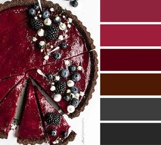 Blackberry pie color inspiration,Blackberry pie inspired color palette #colorpalette #blackberry