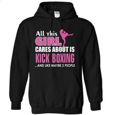All this girl cares about is Kick Boxing - #cheap t shirts #denim shirts. CHECK PRICE => https://www.sunfrog.com/LifeStyle/All-this-girl-cares-about-is-Kick-Boxing-3119-Black-18565676-Hoodie.html?60505