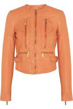 MICHAEL Michael KorsCrinkled leather jacket