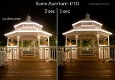 Want to take night photos of scenery? Here are step by step directions for how to use the manual settings on your DSLR to set your exposure correctly.