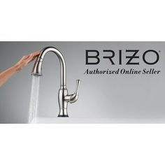 Brizo RP62796 Handle and Set Screw - For Use With Diverters from the Quiessence Brilliance Brushed Nickel