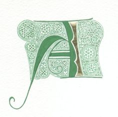 Initial A This is the first letter of the name of my lovely wife