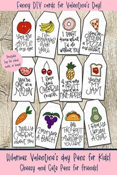 Valentine's Pun Cards for Kids! Hilarious and cheesy puns for your favorite frie. - Valentine's Pun Cards for Kids! Hilarious and cheesy puns for your favorite friend, boyfriend, gi -