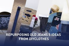 Repurposing Old Jeans: 5 ideas from Diyclothes Denim Scraps, Old Jeans, Denim Jeans, What Image, Sewing Hacks, Sewing Tips, Sewing Ideas, Green Jeans, Recycle Jeans
