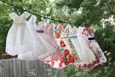Isa Creative Musings- hankie dresses