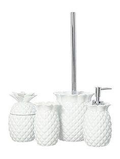 pineapple bathroom set - Google Search