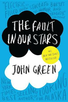 The Fault in Our Stars. One of the books I have lined up to read soon.