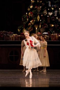 "Meaghan Grace Hinkis as Clara in ""The Nutcracker"" (Royal Ballet). Photo: Johan Persson"