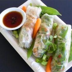 Thai Chicken Spring Rolls - Allrecipes.com