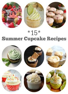 15 Fabulous Summer Cupcake Recipes for every summery occasion!
