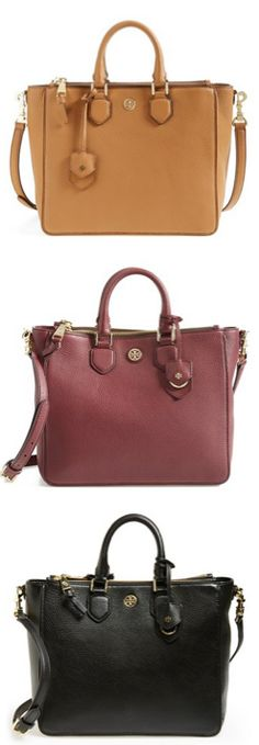 Tory burch totes in the best fall colors http://www.revolvechic.com/